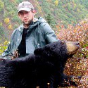 Guide with black bear